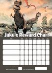 Personalised Dinosaurs Reward Chart (adding photo option available)